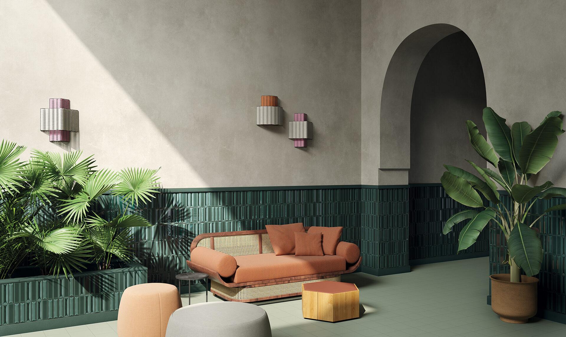 Ceramica Vogue Flauti Wall Tile from SpecCeramics